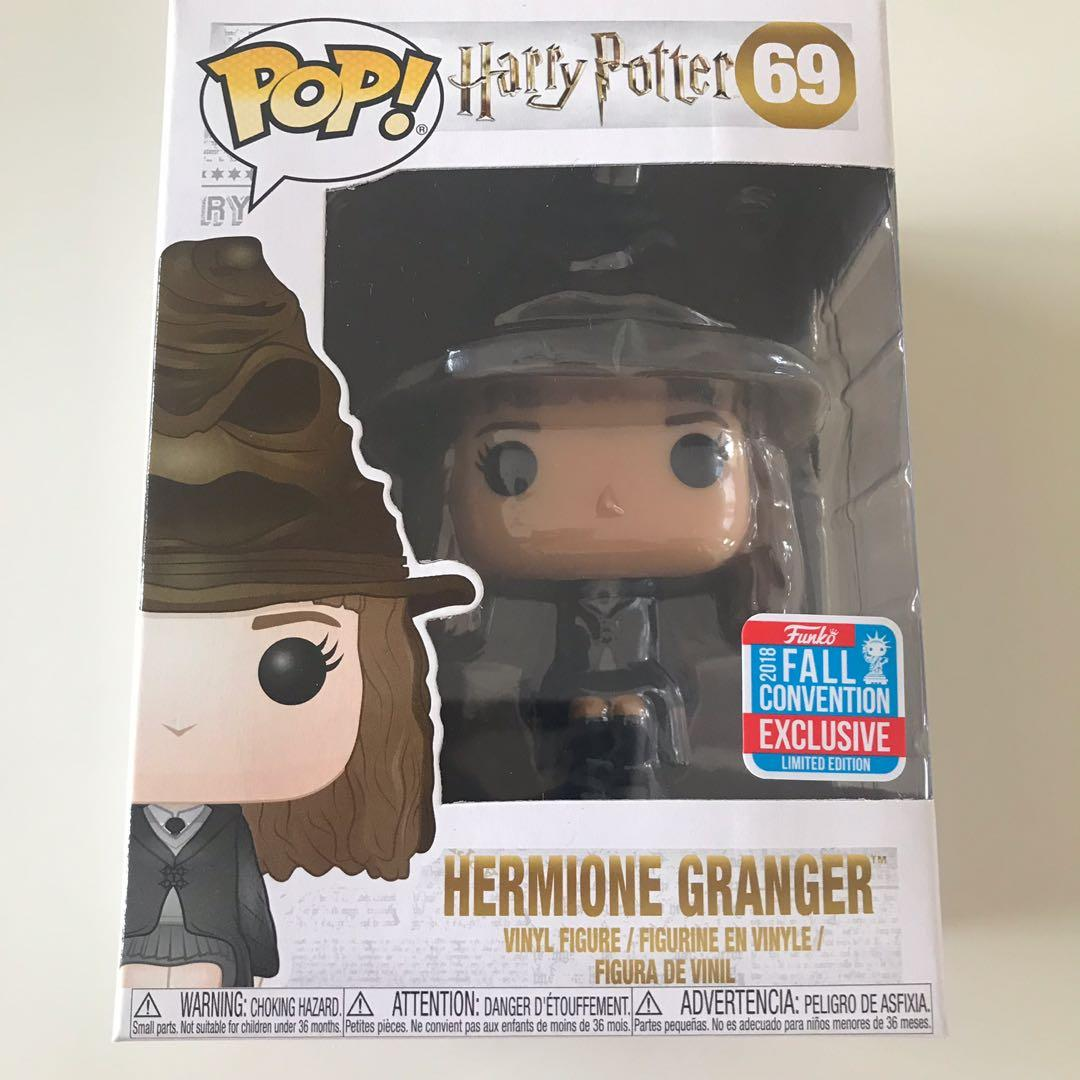 Pop Vinyl Hermione Granger 2018 Fall Convention Exclusive