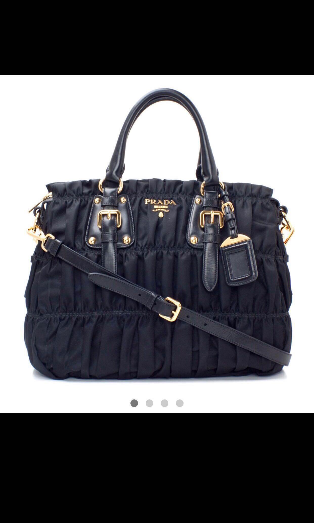 4d4016f73c Prada Tessuto Gaufre Tote Bag