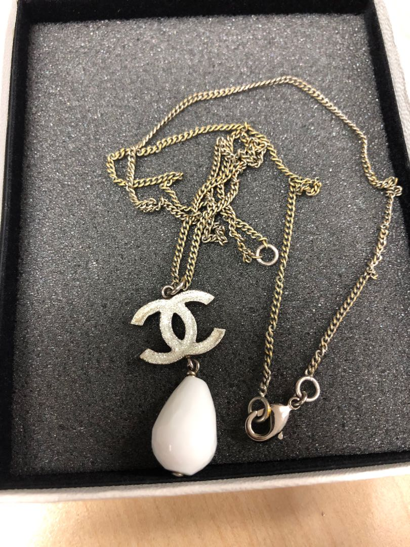 07c4799fc Preloved] Authentic Chanel Necklace, Luxury, Accessories, Others on ...