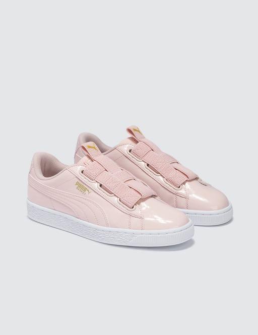 6f9054e2e1 puma basket maze pink trainers, Women's Fashion, Shoes, Sneakers on ...