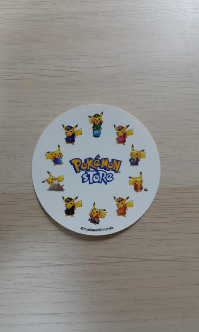[RARE] Pokemon Centre Japan Stickers