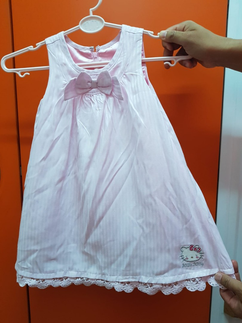 23b19090e Sanrio hello kitty dress for little girls 2 to 4 years old, Babies ...
