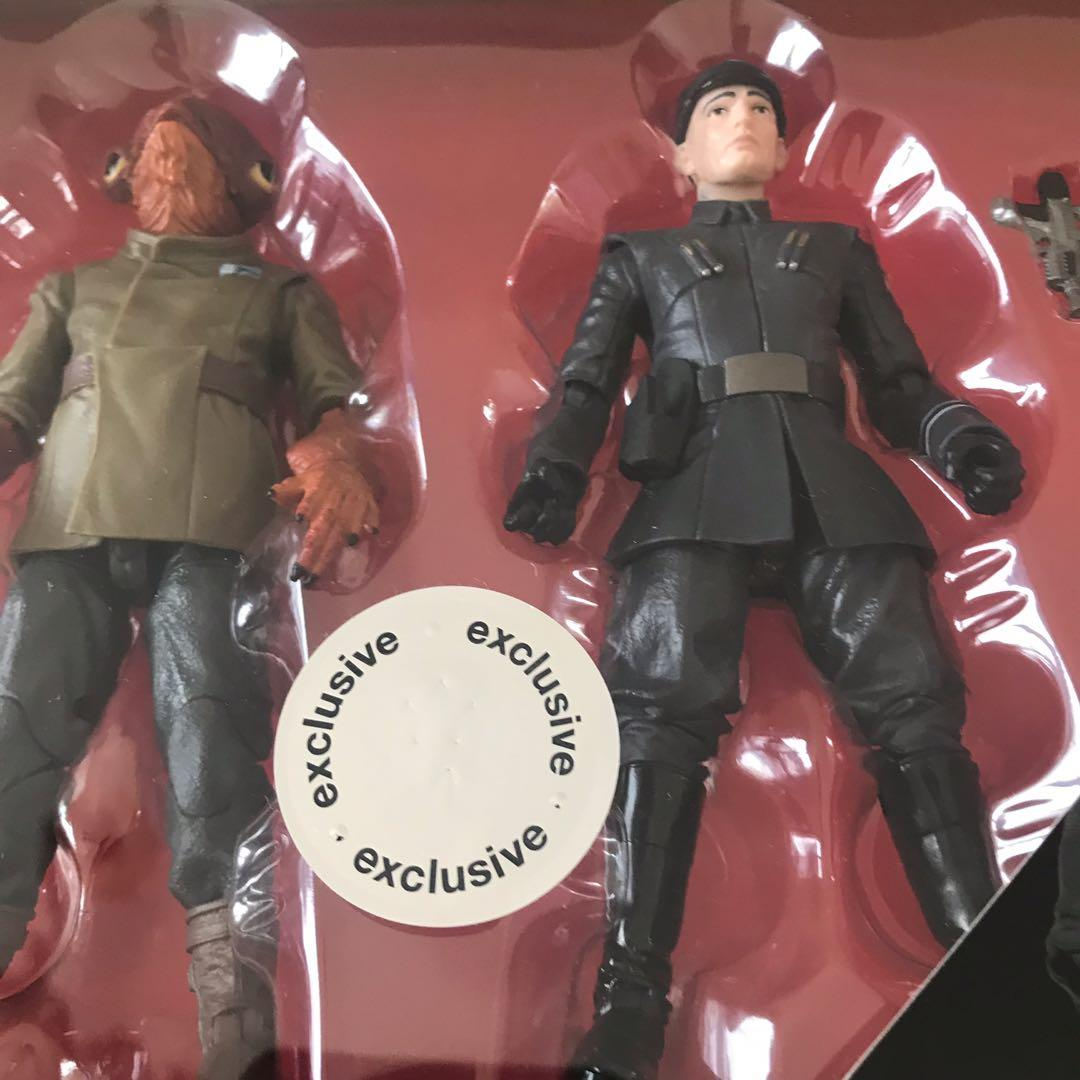 Star Wars Black Series Admiral Ackbar-First Order Officer. Toys R Us Exclusive