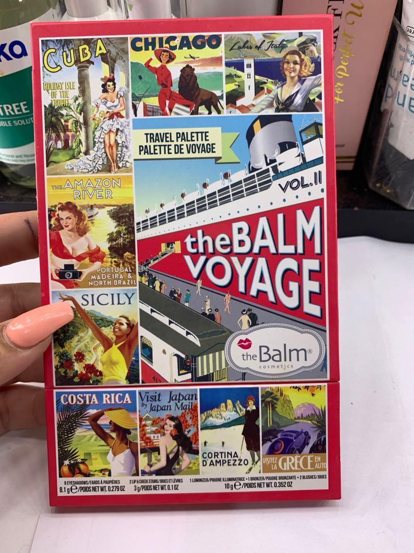 The balm voyage palette