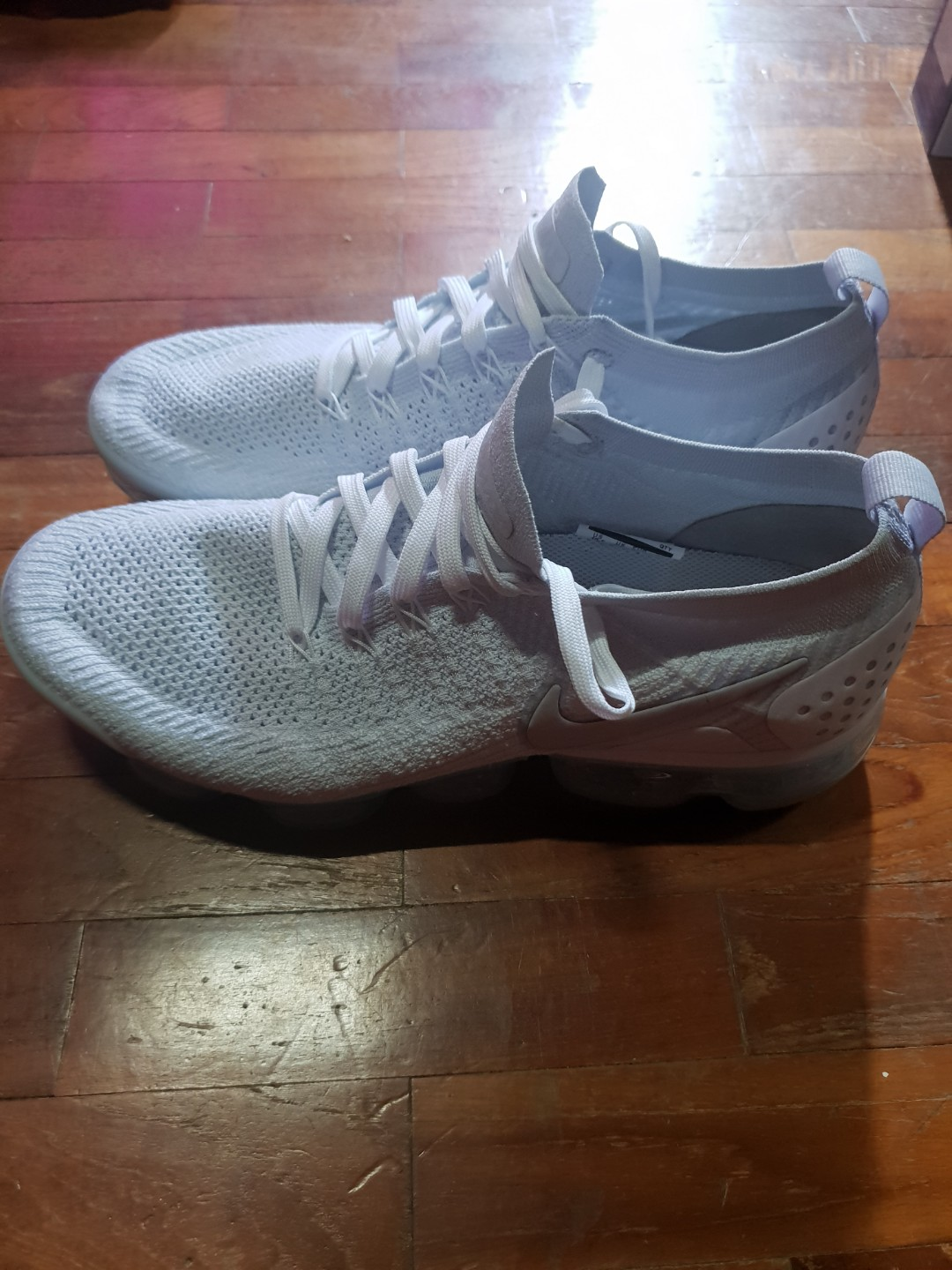 bd306743be vapormax flyknit white 2, Men's Fashion, Footwear, Others on Carousell