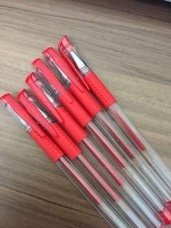 Red ball pen $10/6