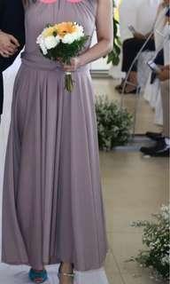 Infinity Bridesmaid Dress