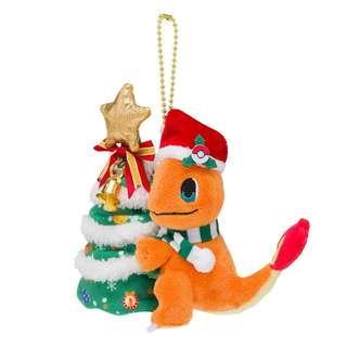 Pokemon Center Original Plush Mascot Christmas 2018 Charmander JAPAN OFFICIAL