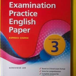 Examination Practice English Paper (Secondary 3)