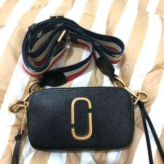Marc Jacobs Ori MJ Snapshot Camera Black Tas Sling Bag Crossbody Simple Hitam