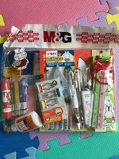 Miffy 文具福袋