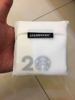 Starbuck 20 anniversary bag