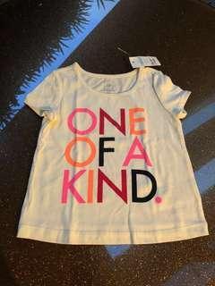 BNWT Gap Baby Girl's T-shirt (12-18 mths)