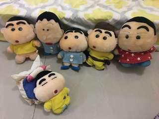 Shinchan sold as set