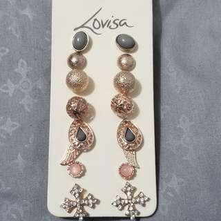 Lovisa 8 Pairs Earrings