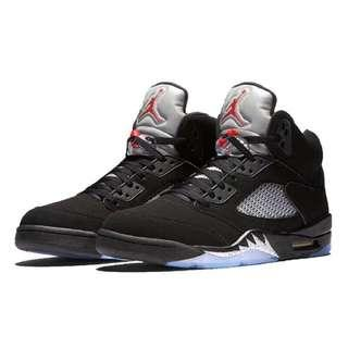 🚚 Nike Jordan 5 (gs)大童鞋size 5.5y