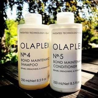 Olaplex shampoo and conditioner 4-5