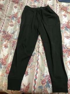 Urban outfitters sweat pants greenish black