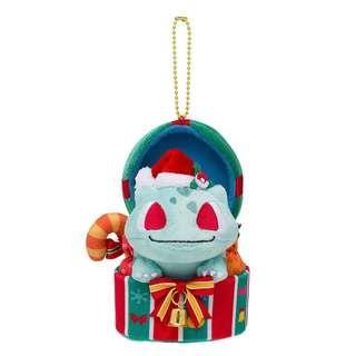 Pokemon Center Original Plush Mascot Christmas 2018 Bulbasaur JAPAN OFFICIAL