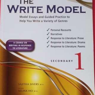 The Write Model (Secondary 1)
