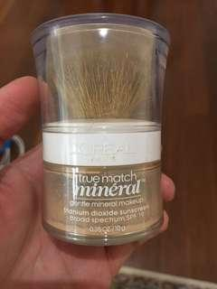 Loreal true match mineral foundation