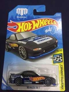 Hot wheels 2019 Mazda RX7