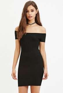 KATE OFFSHOULDER BODYCON DRESS