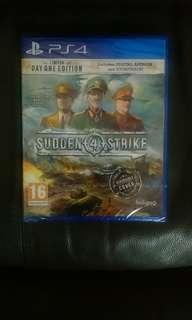 (全新) ps4 sudden strike 4