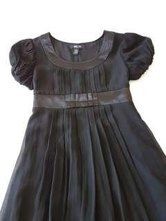 Anna Sui 100% Pure Silk Little Black Dress