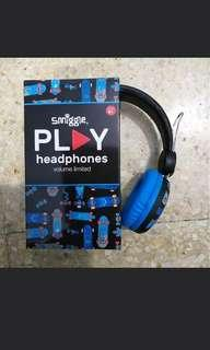 Smiggle snap play headphones new