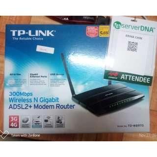 TP LINK TD-W8970 for streamyx
