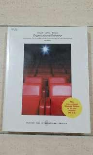 Organizational Behavior (improving performance and commitment in the workplace ) 4th edition