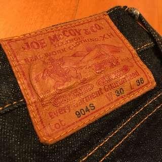 Real McCoys jeans vintage warehouse rrl lvc goros