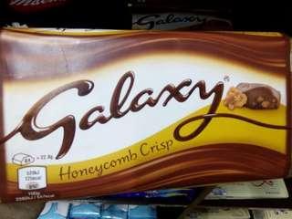 Galaxy Chocolate Honeycomb Crisp 6x