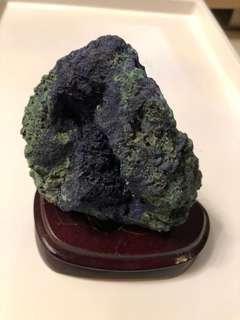 藍銅礦原石