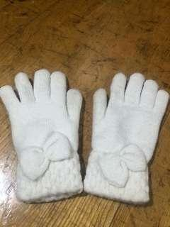 🚚 95%新-韓版超厚絨底保暖手套