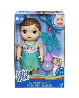 BNIB Baby Alive Face Paint Fairy