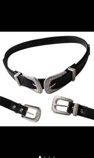 Double Clasp Belt