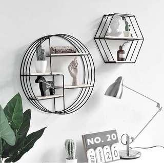🚚 PO Stylish Creative Decorative Wall Hanging Shelves