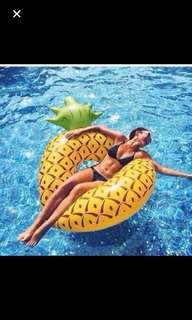 Jumbo Pineapple Pool Float Inflatable / Swimming / Beach (163CMx88CM)GOOD QUALITY FROM AUSTRALIA