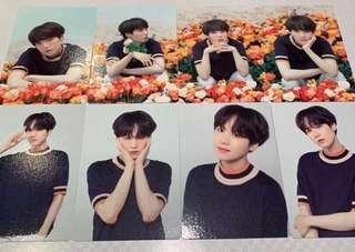 BTS love yourself dome tour JPN SUGA photocard 8 SET photo card official