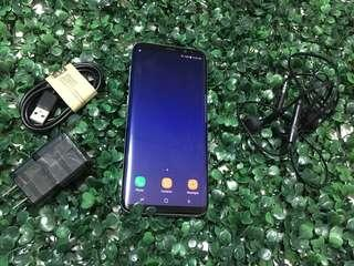 Samsung galaxy s8 plus 64gb complete metal blue