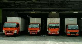 Truck rental with Driver