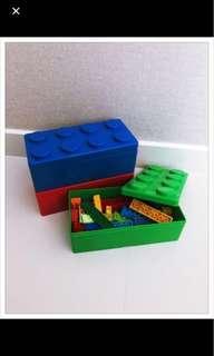 LEGO box ( Christmas gift box , storage )