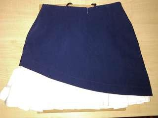 Women blue Mini skirt
