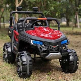 JM 2018 Jeep Atv Rechargeable Ride On Car Truck