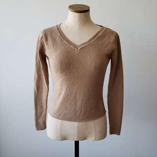 Club Monaco Camel Sweater
