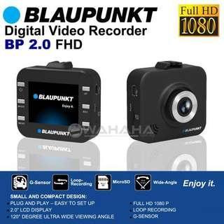 Blaupunkt BP 2.0 FHD In Car Dash Cam Car Digital Video Recorder. Car Radio And Audio System 1003