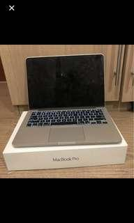 MacBook Pro Retina 13 inch Early 2015 Second