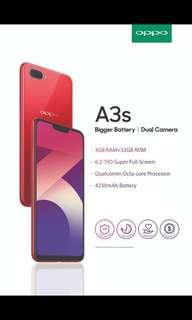 Oppo A3S + 6 FREE GIFT !!